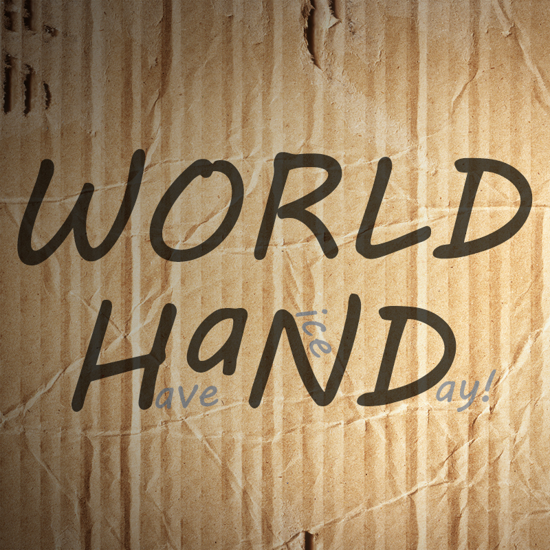 World, HAND logo facebook