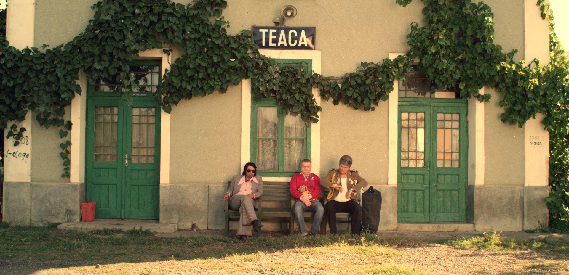 Gara din Teaca, platou de filmare pentru primul lung metraj produs100% in judetul Mures