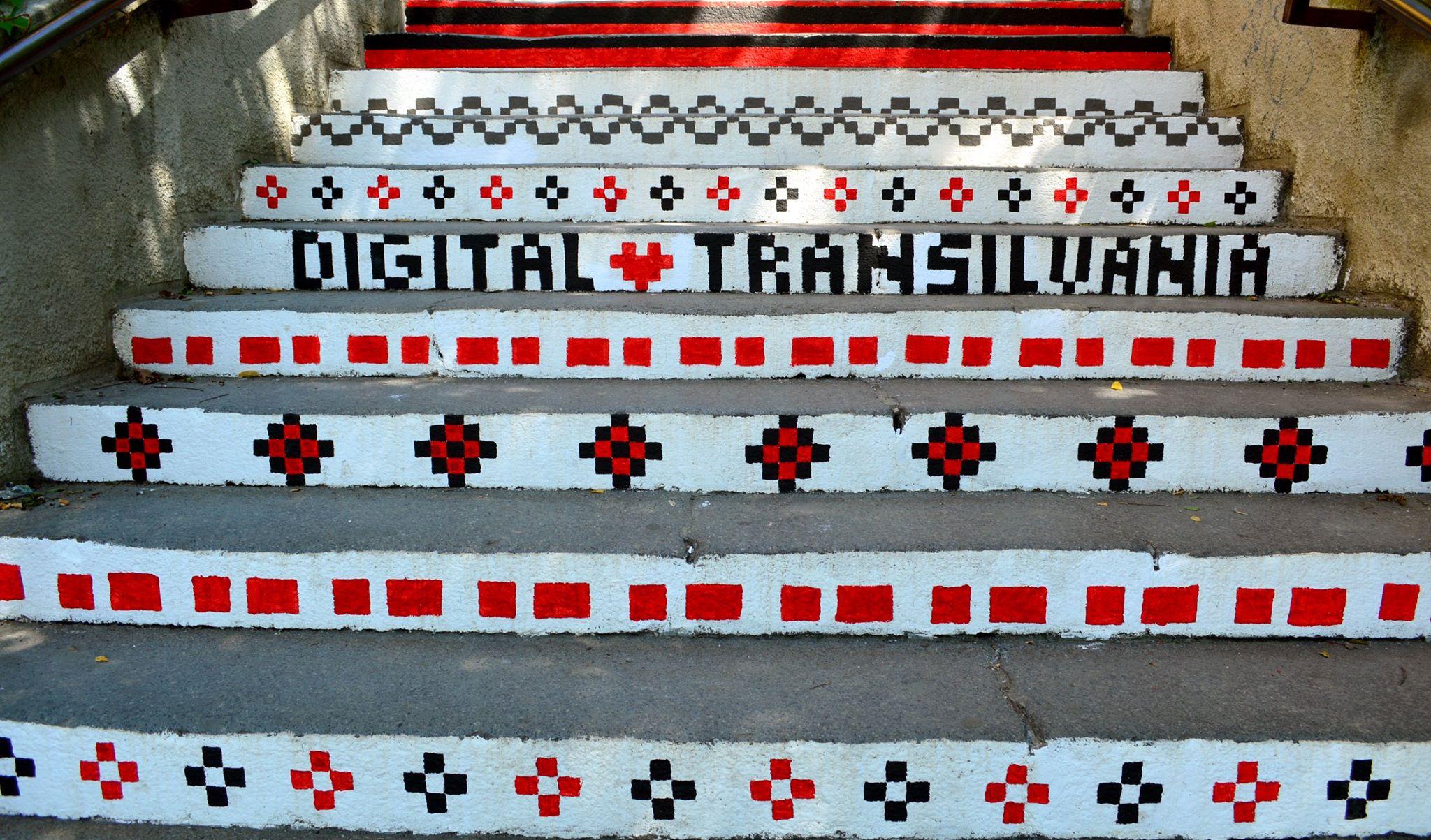 Digital Transilvania – Rakoczi Stairs, Targu Mures, Romania