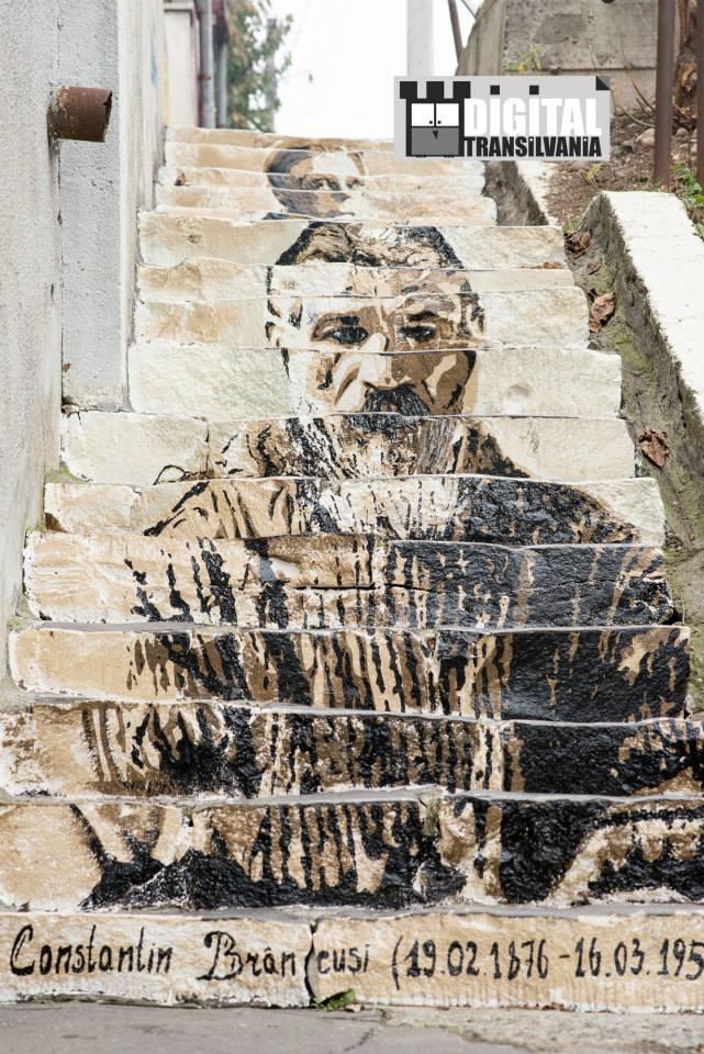"""Scarile cu """"personalitate"""" din Targu Mures, minuni ale artei urbane"""