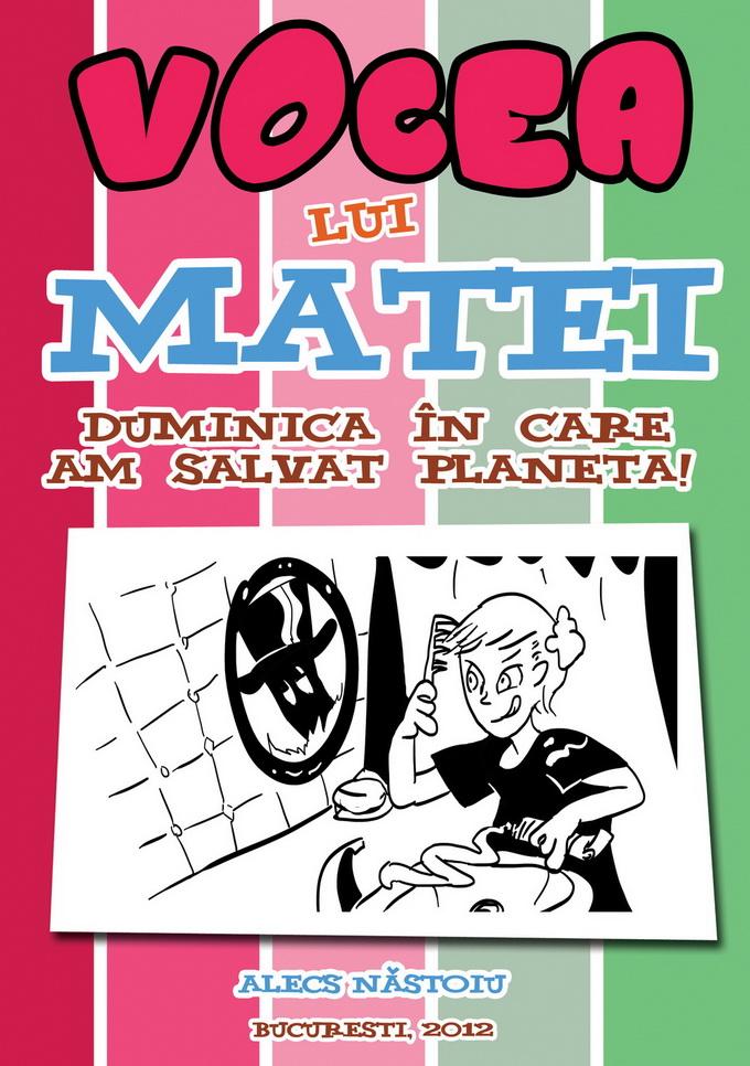 """Comunicat de presa – lansare carte """"Vocea lui Matei"""""""