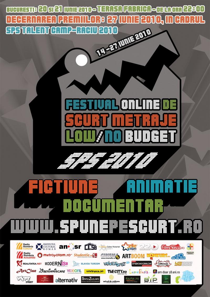 Festivalul Online de Scurt Metraje LOWNO Budget