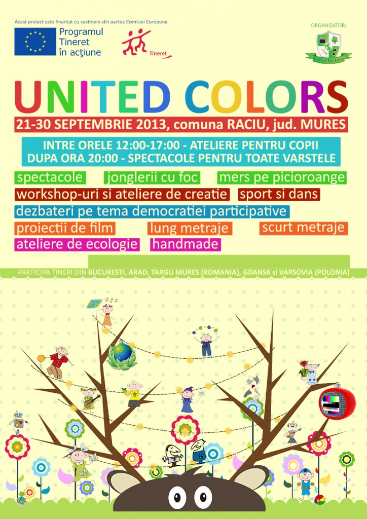 Lansare proiect United Colors