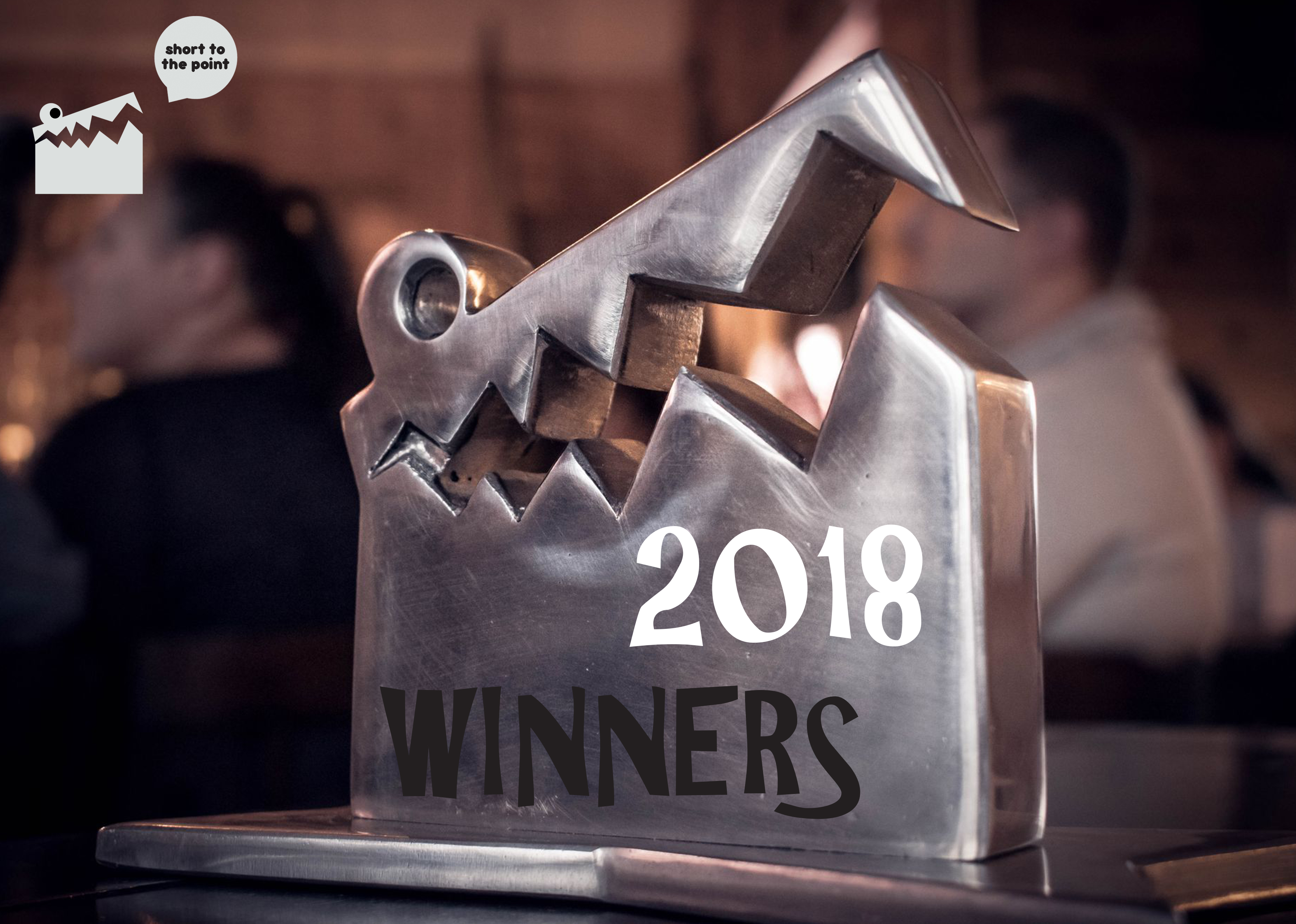 The winners of Short to the Point 2018 Annual Awards