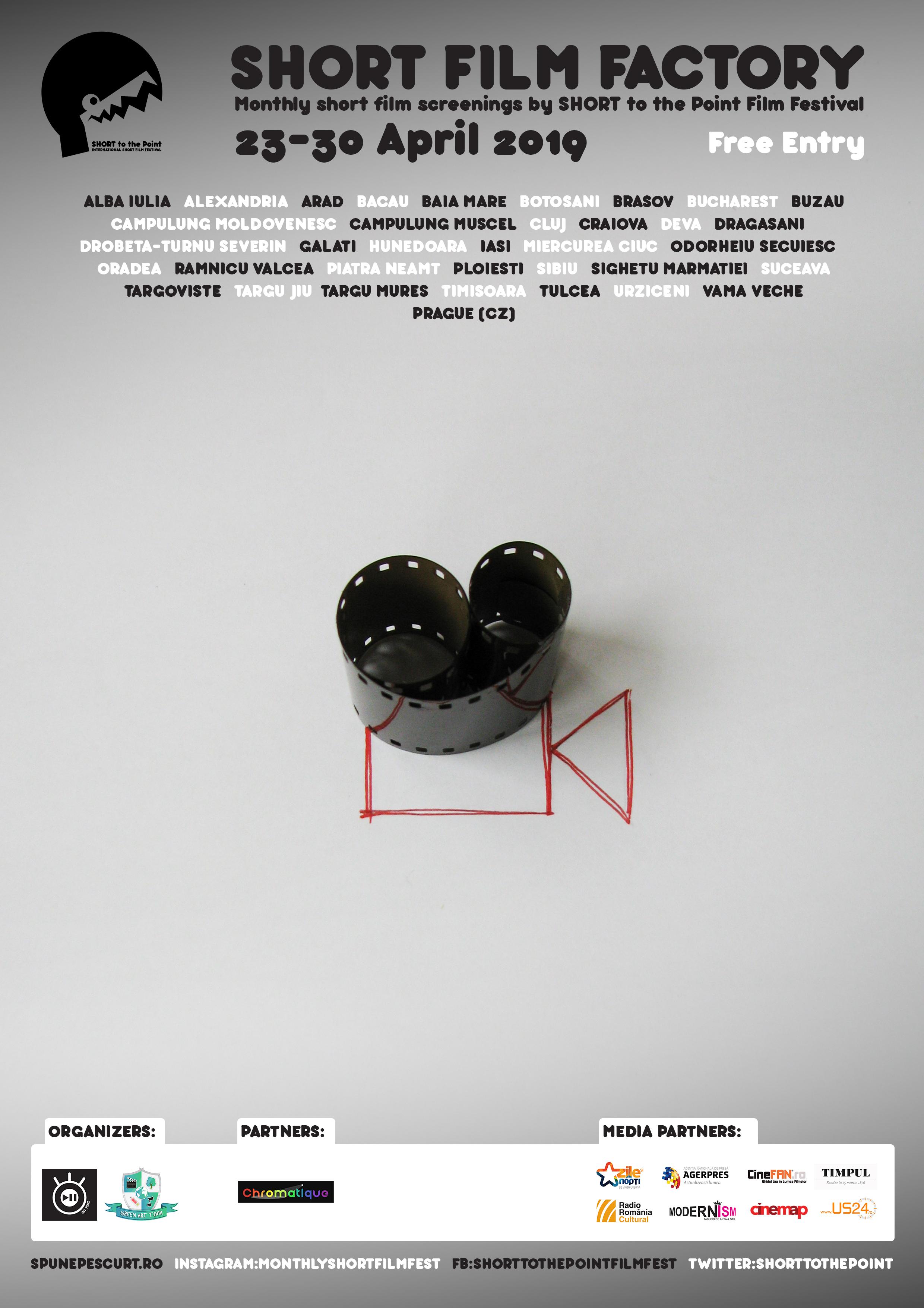 [RO] Comunicat de presa – Short Film Factory – Aprilie 2019